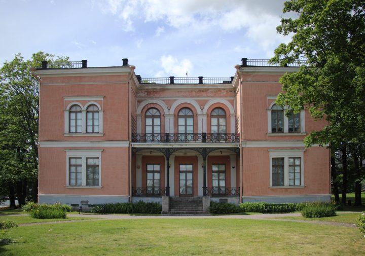 The Eastern façade, Villa Hakasalmi