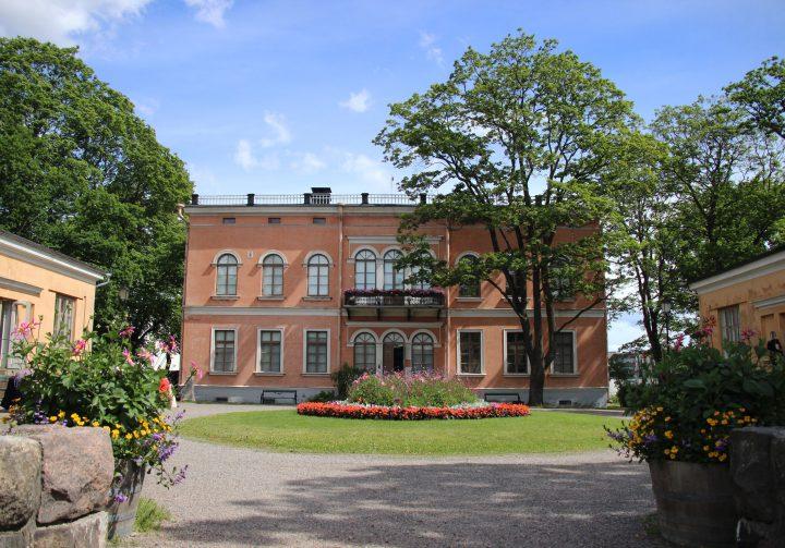 The Western façade, Villa Hakasalmi