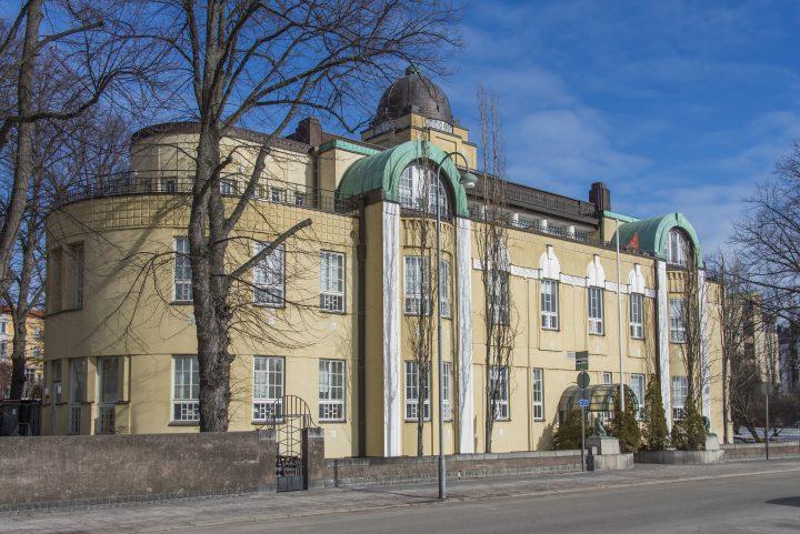 Street façade, Villa Ensi