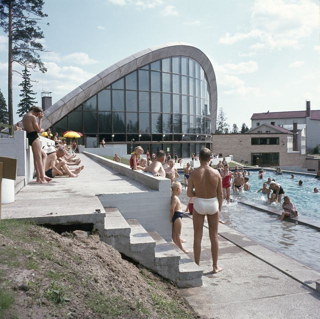 Outdoor swimming pool, Kouvola Sports Park Swimming Hall