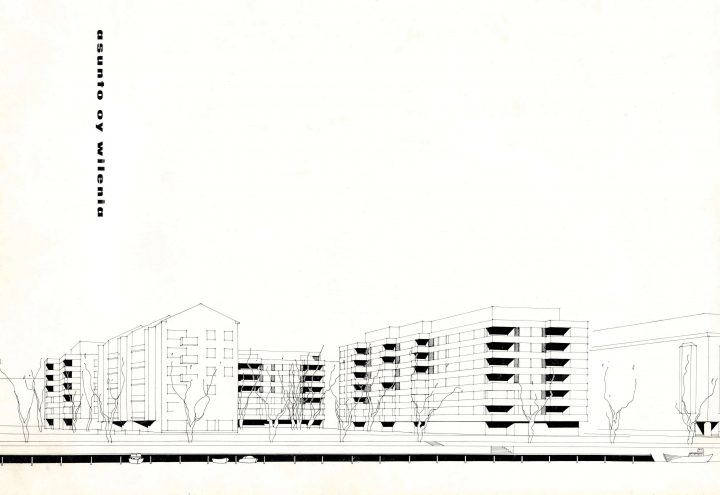 Perspective drawing, Wilenia Housing