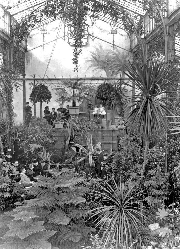 Winter Garden in the 1890s, Winter Garden