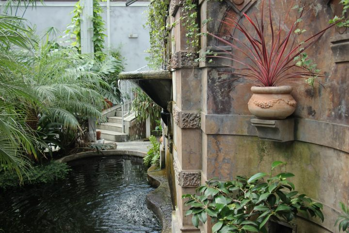 The fountain, Winter Garden