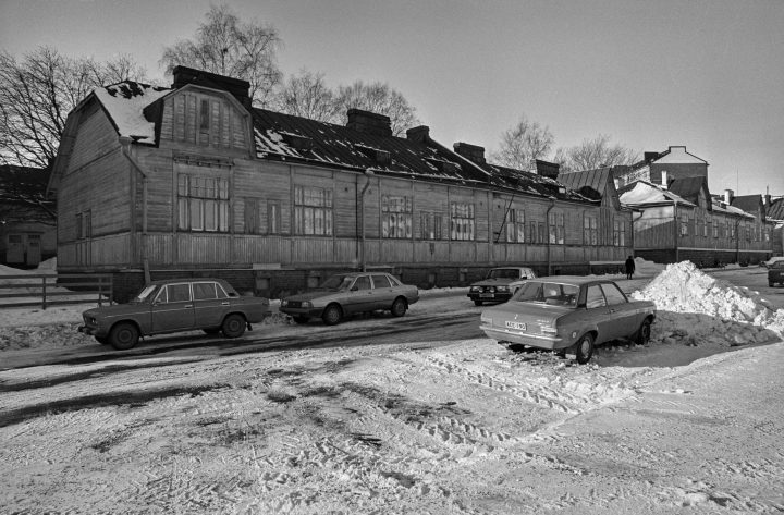 The building photographed in the 1980s, Worker Housing Museum