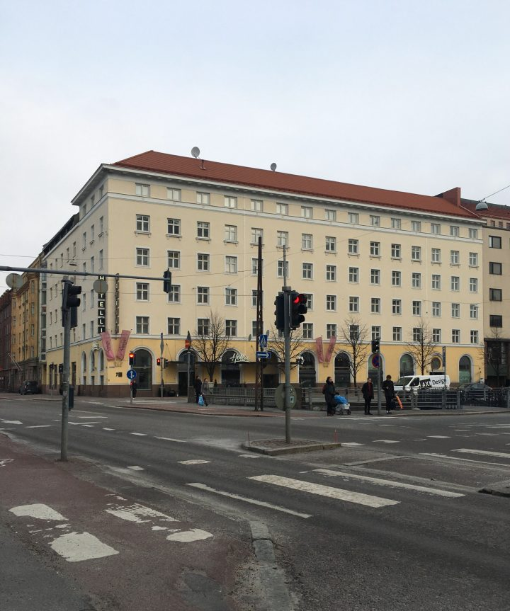 Street view from the south, Helsinki YWCA House