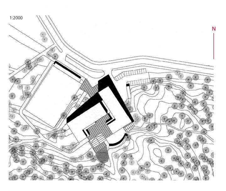 Site plan, Ymmersta School