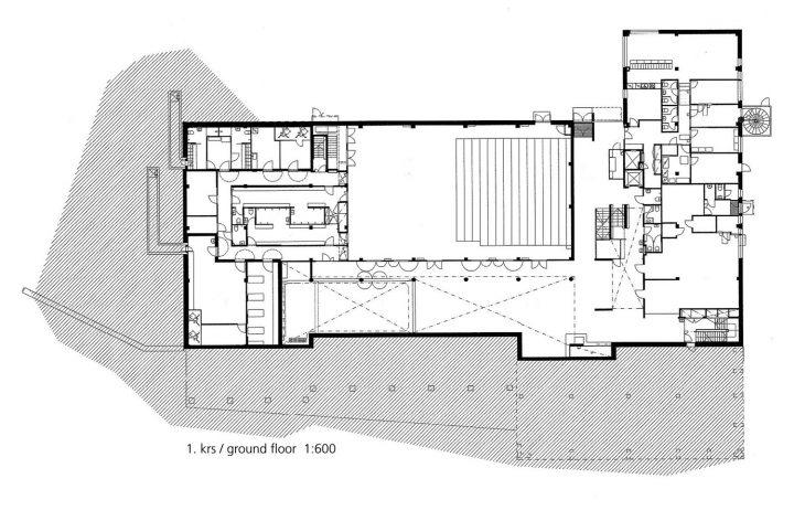 Ground floor, Ymmersta School