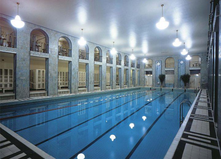 Large pool, Yrjönkatu Swimming Hall