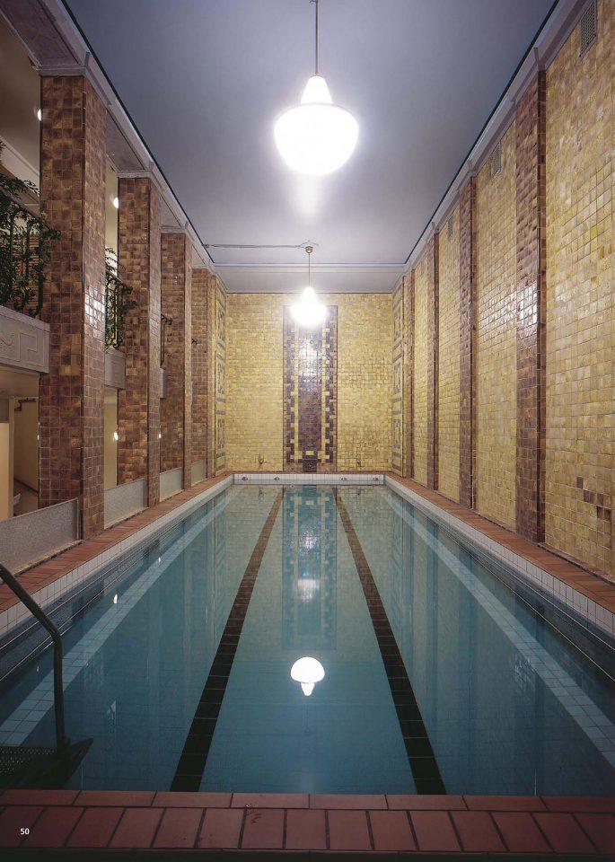 Small pool, Yrjönkatu Swimming Hall
