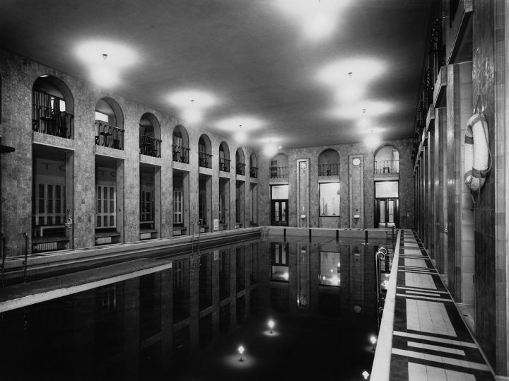 Large pool in 1929, Yrjönkatu Swimming Hall