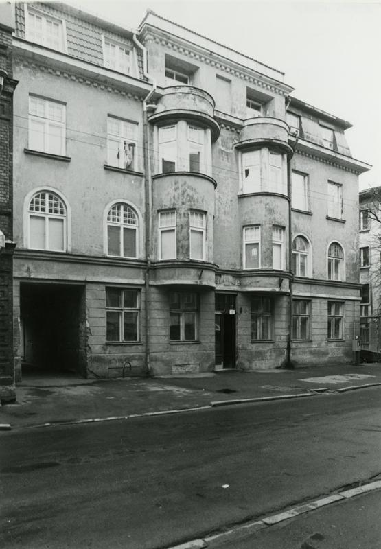 Photo from 1996, Friedrich Akel House
