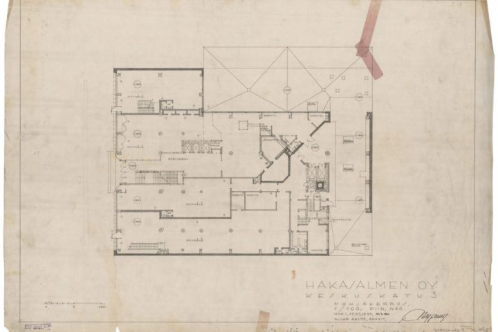 Ground floor plan, Iron House