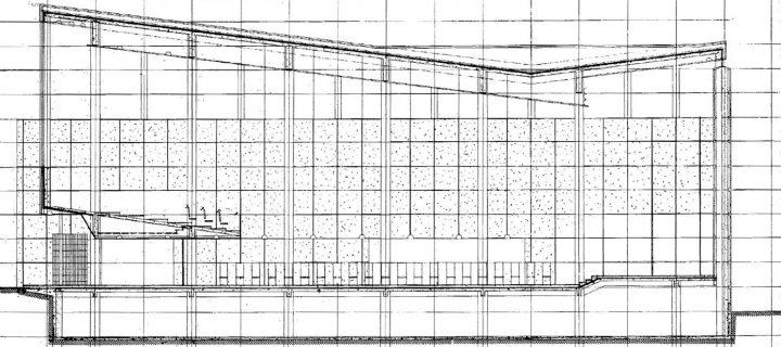 Section plan, Lauttasaari Church