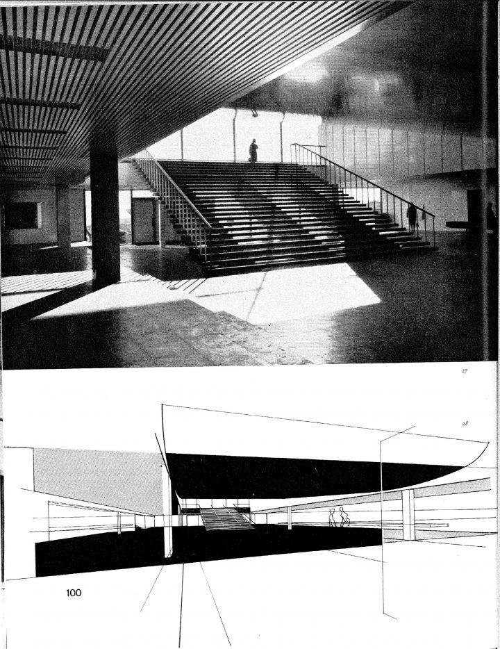 Main entrance hall, Tampere University Main Building