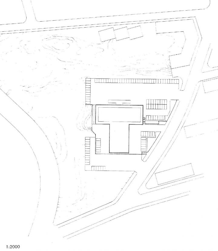 Site plan, Industry House