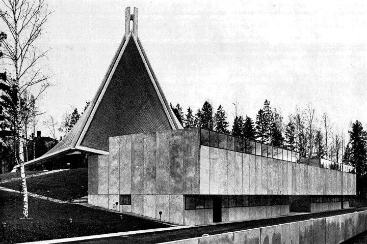 Northern façade, Kannelmäki Church