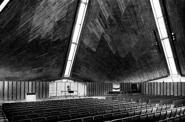 Assembly hall, Kannelmäki Church