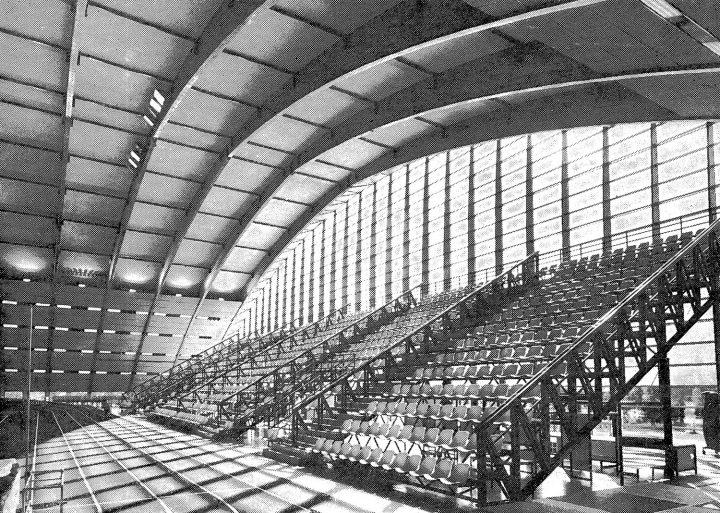 Stand, Kupittaa Sports Hall