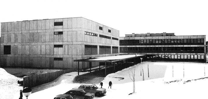 View from the northeast, Helsinki Finnish Co-educational School SYK