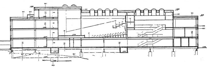 Section plan, Helsinki Finnish Co-educational School SYK