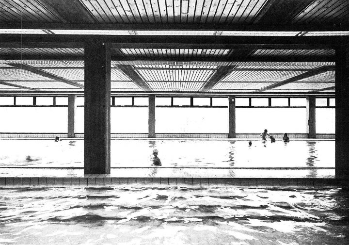 Swimming hall, Helsinki Finnish Co-educational School SYK