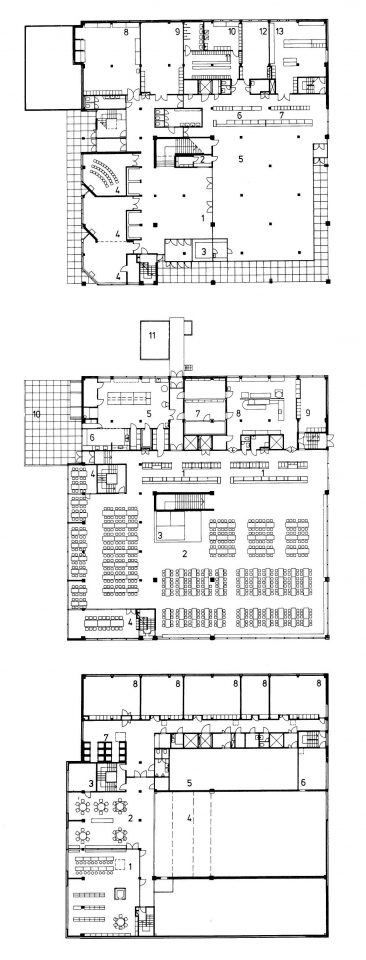 Floor plans of the soldier's home, Vekaranjärvi Garrison Centre