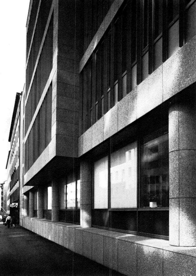 Street façade, Helsinki Federation of Parishes