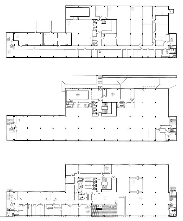 Floor plans, Helsinki Federation of Parishes