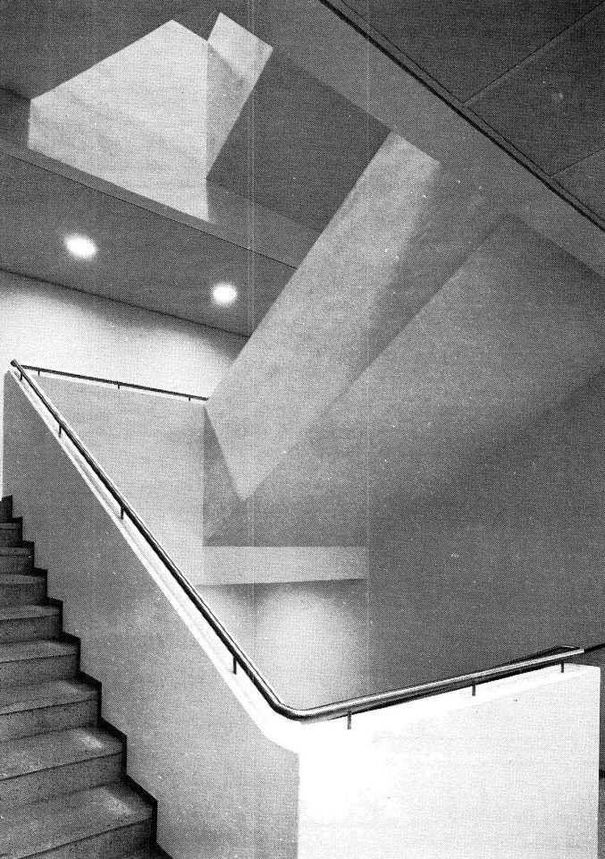 Main stairway, Helsinki Federation of Parishes