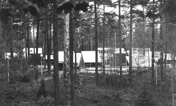 Building from the south, Länsi-Säkylä Daycare Centre Onnimanni