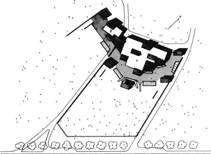 Site plan, Länsi-Säkylä Daycare Centre Onnimanni