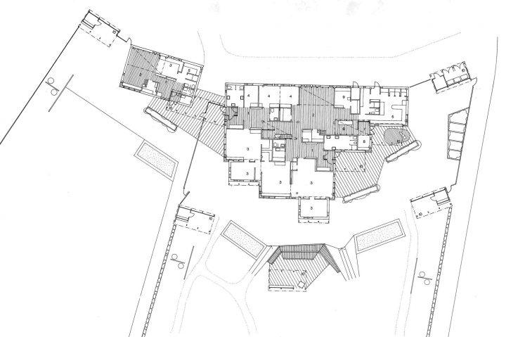 Floor plan, Länsi-Säkylä Daycare Centre Onnimanni