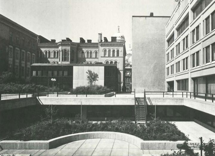 Block courtyard, Ministry of the Interior