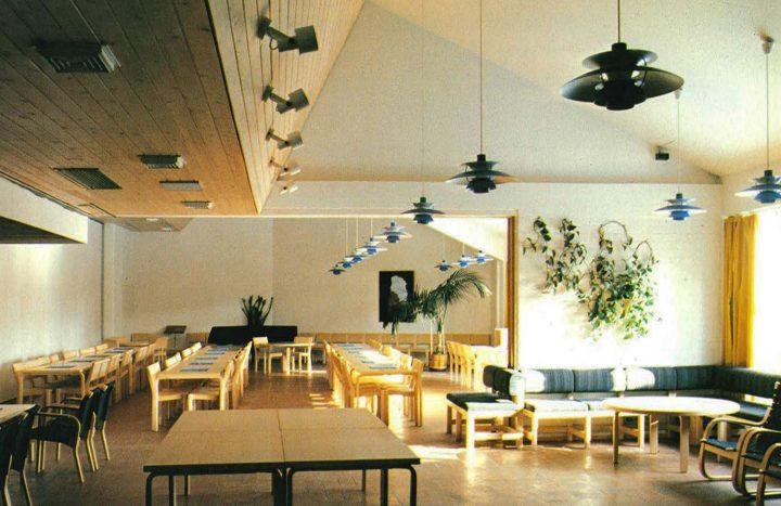 Club room, Vuosaari Church
