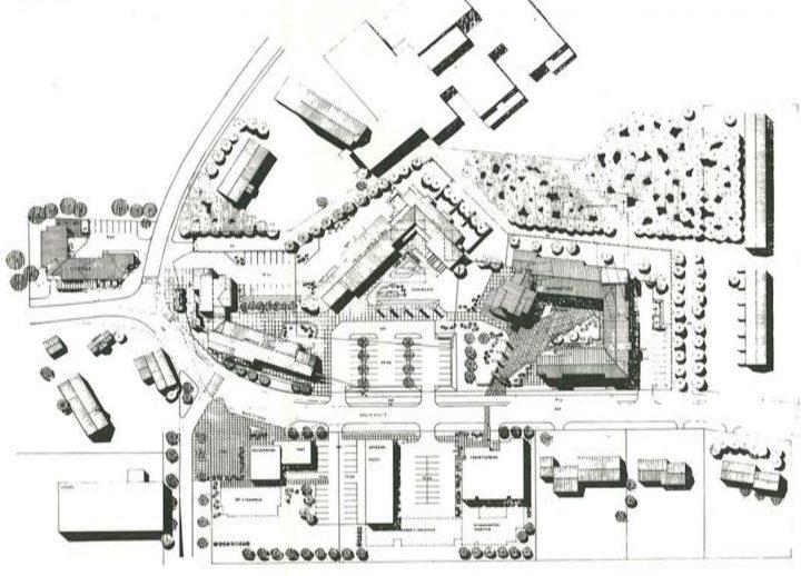 Site plan, Oulunsalo Municipal Offices