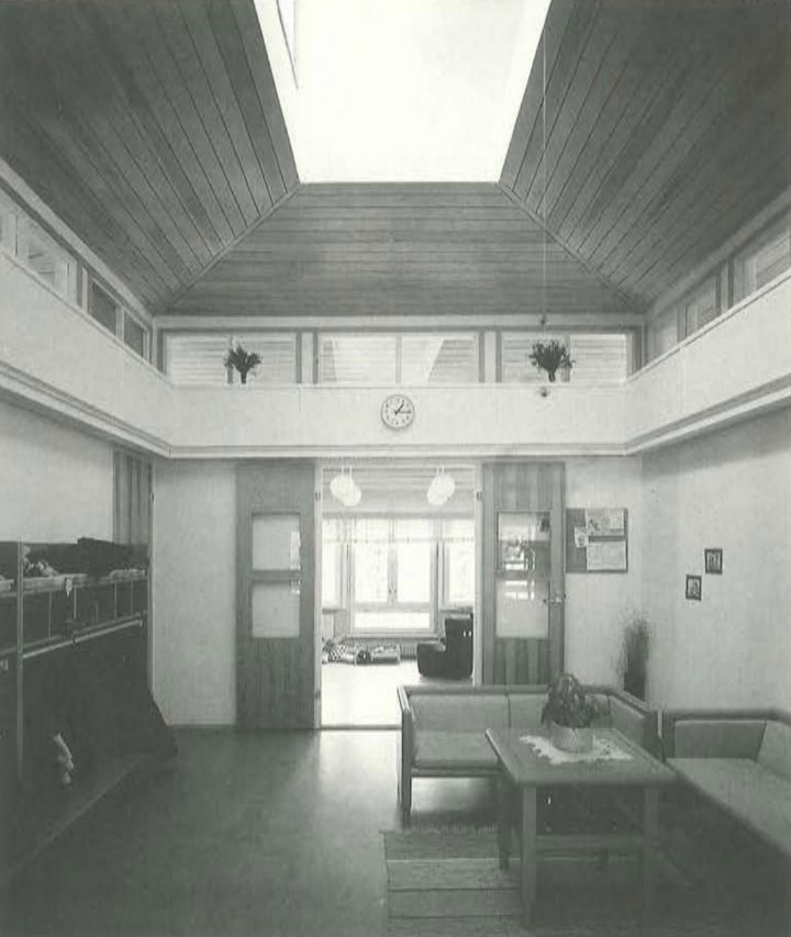 Entrance hall, Ravuri Daycare Centre