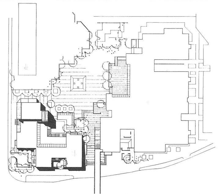 Site plan, St. Matthew's Church