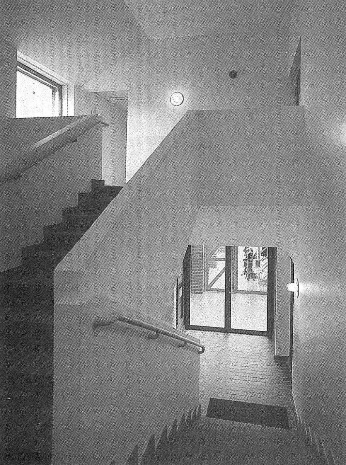 Stairway, St. Matthew's Church