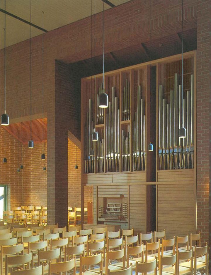 Church organ, St. Matthew's Church