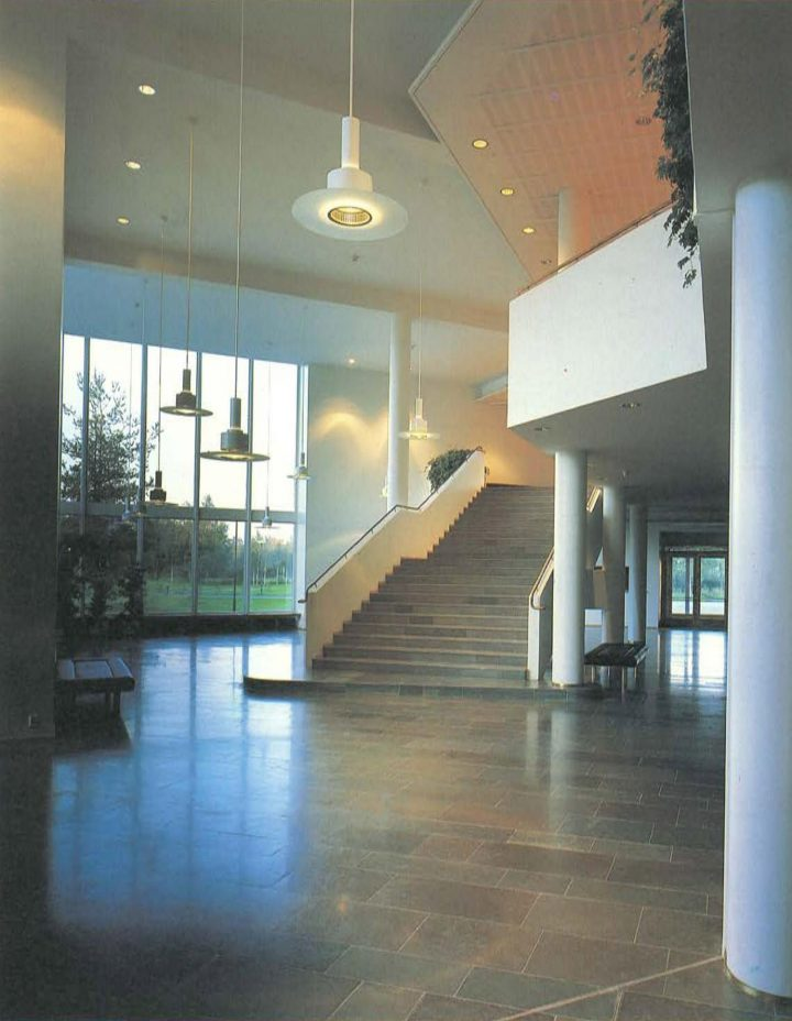 Main building, foyer, University of Joensuu