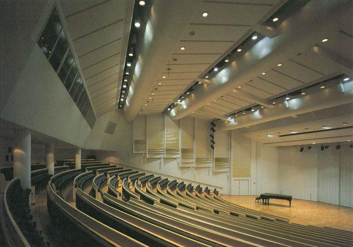 Main building, auditorium, University of Joensuu