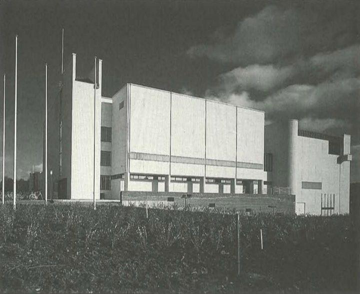 West elevation, Kuusankoski Hall