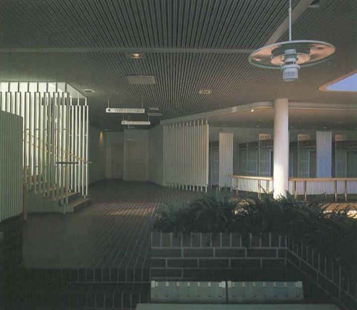 Entrance hall , Kuusankoski Hall