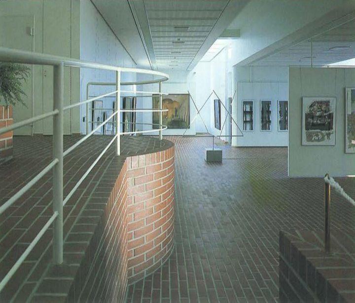 View from the exhibition room, Kuusankoski Hall