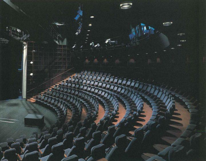 Theatre auditorium, Kuusankoski Hall