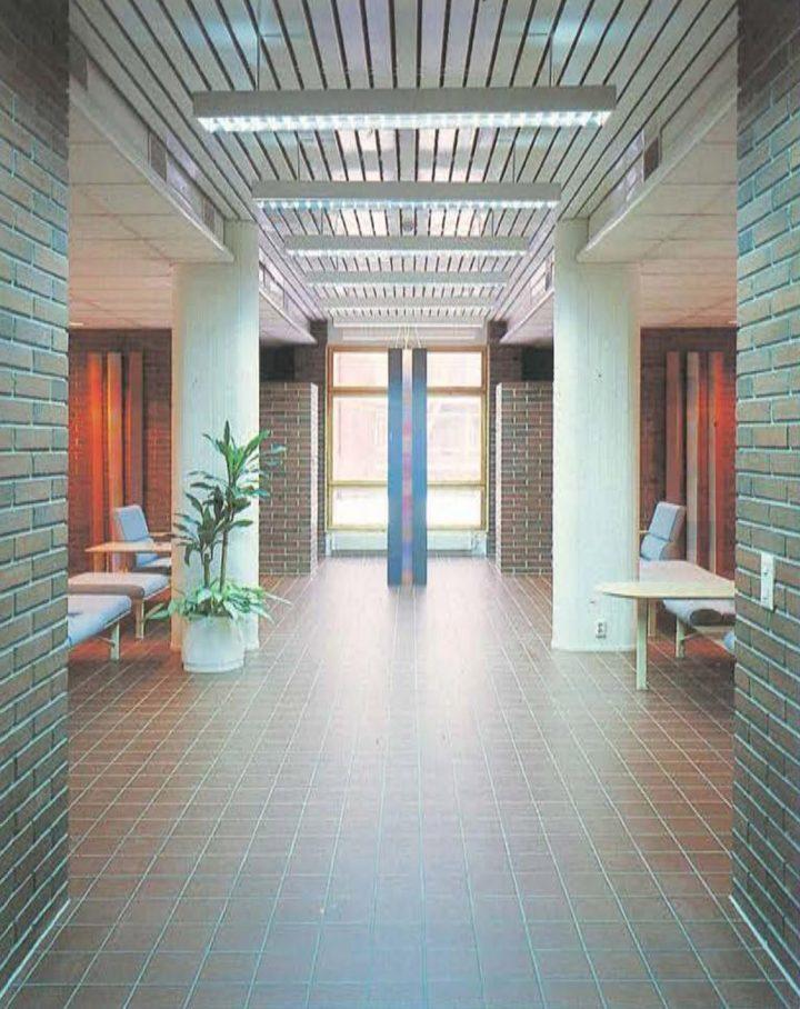 Hall, Tikkurila Headquarters