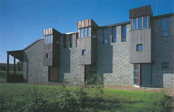 North elevation, Nuorkka Youth Centre