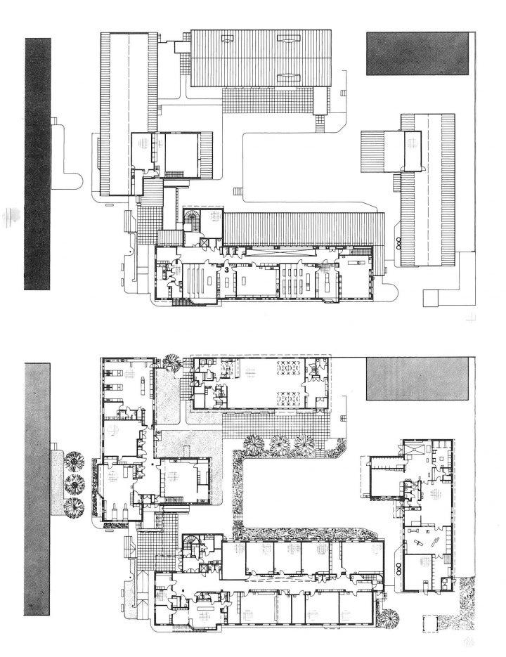 Floor plans, Hangö Gymnasium and Hangö Högstadium