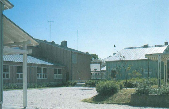 Block courtyard, Hangö Gymnasium and Hangö Högstadium