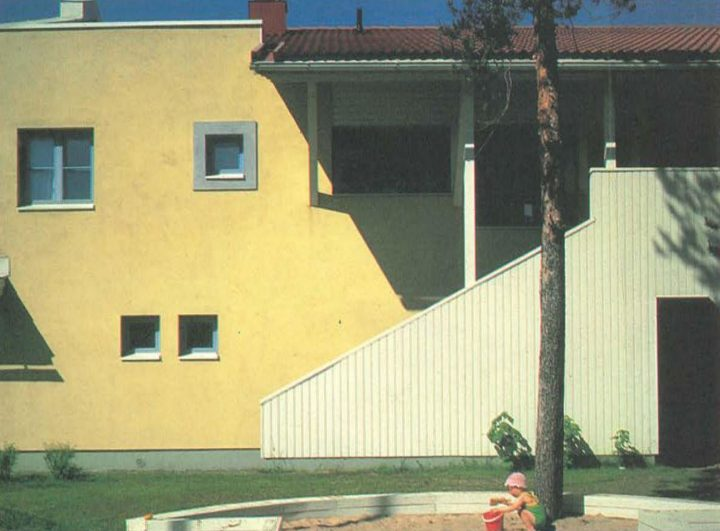 View of the yard, Oulu Mother and Child Home